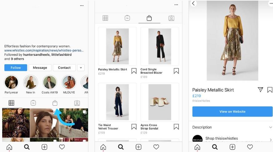 publicaciones de carrusel en Instagram