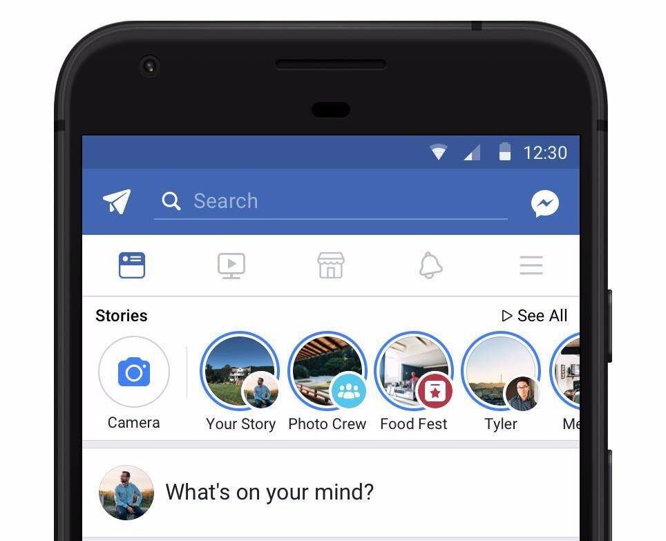 historias en Facebook. Facebook ads para empresas