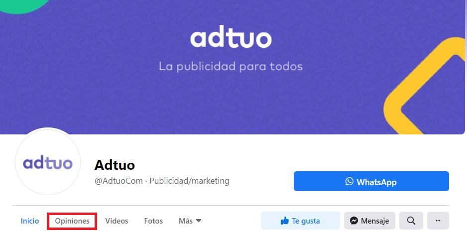 optimizar pagina de facebook ads para empresas