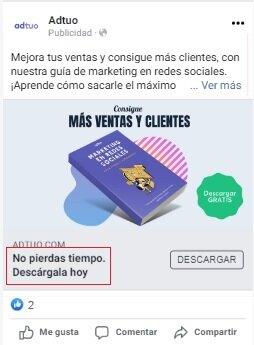 imagenes anuncios campañas facebook ads