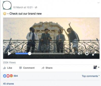 como vender en facebook con el formato vídeo