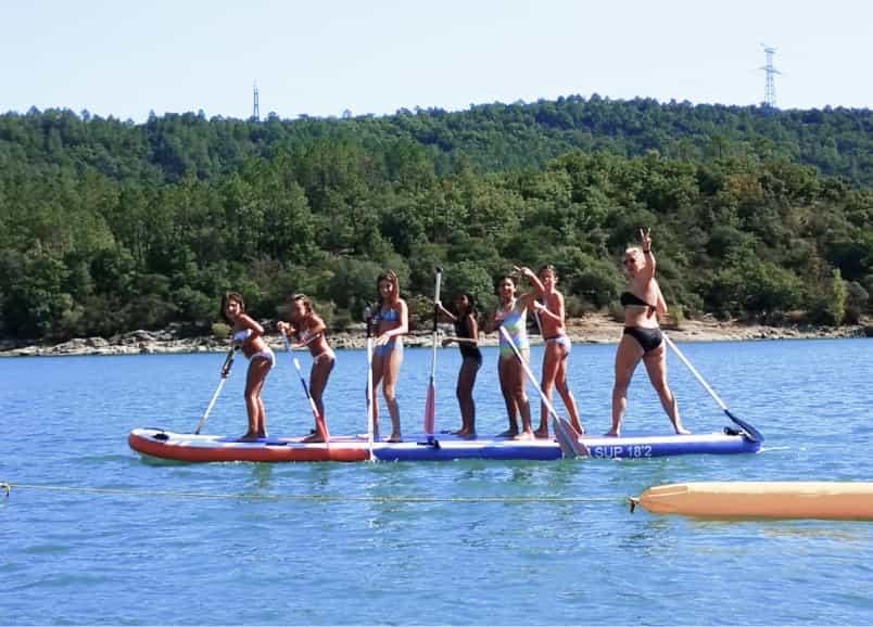 Le big paddle