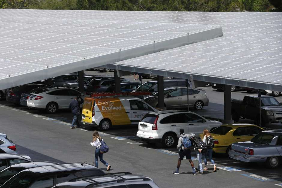 Solar, covered parking part of the new CPS program