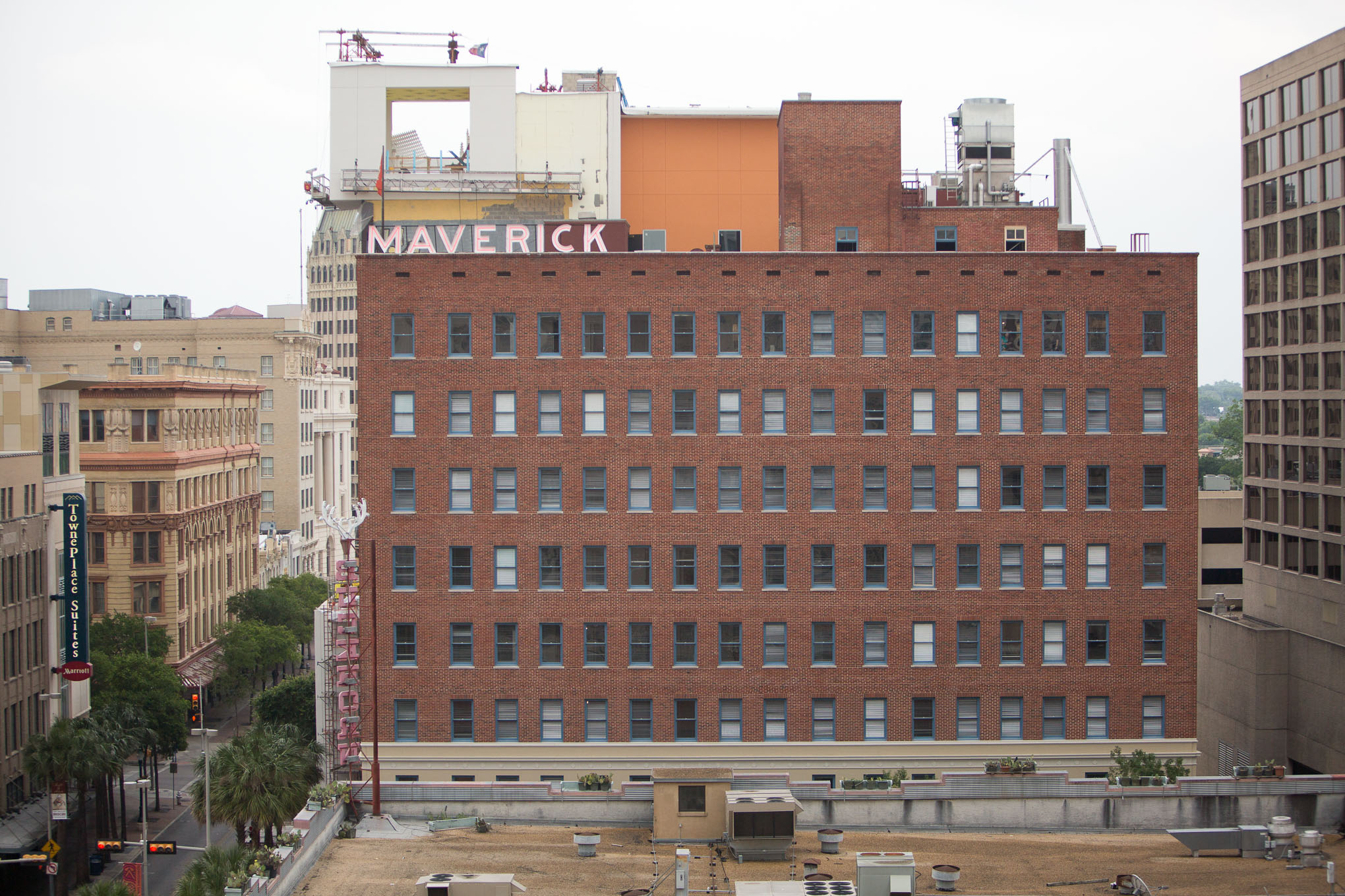 HDRC approves solar panel installation atop the Maverick Building