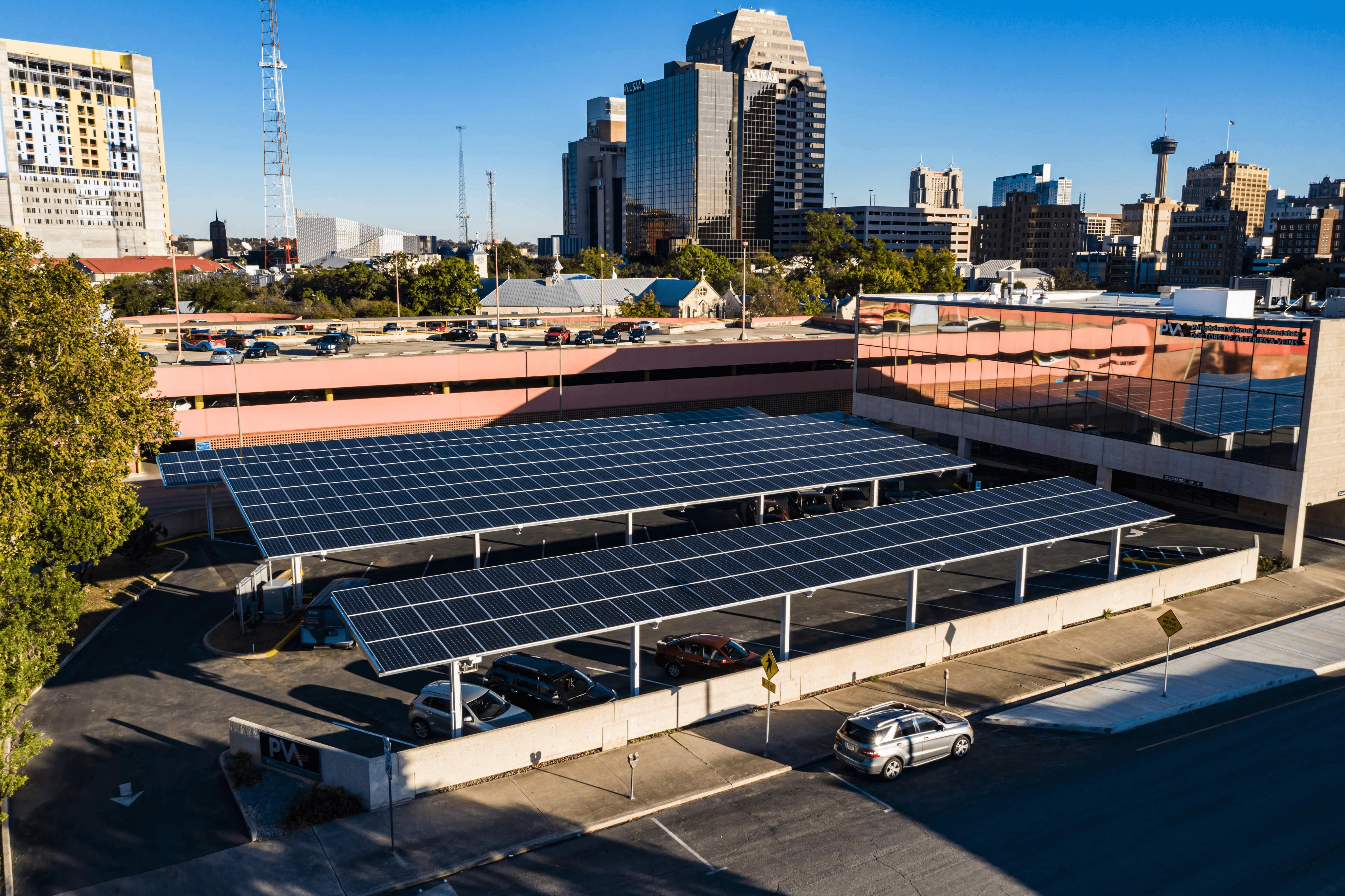 CPS Energy partnering with local firm to build solar carports around town