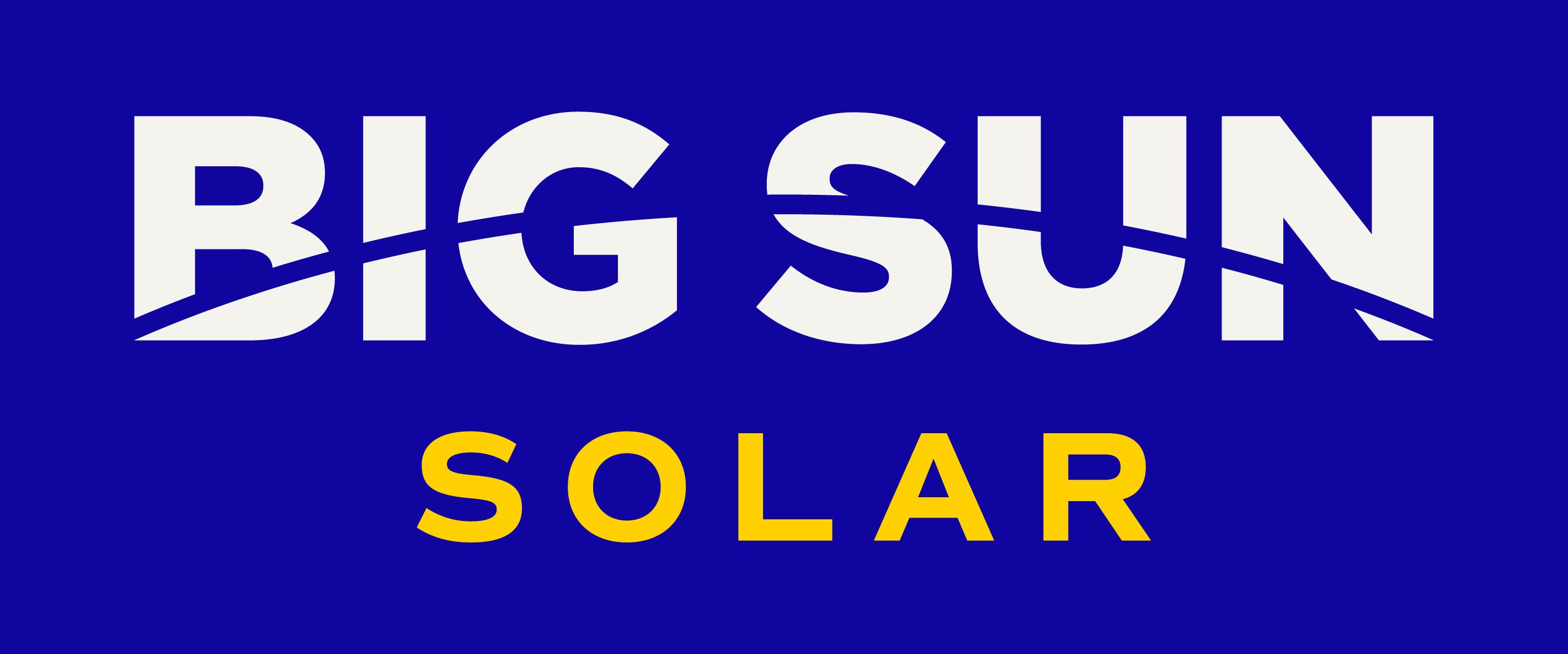 Big Sun Blue BG Logo