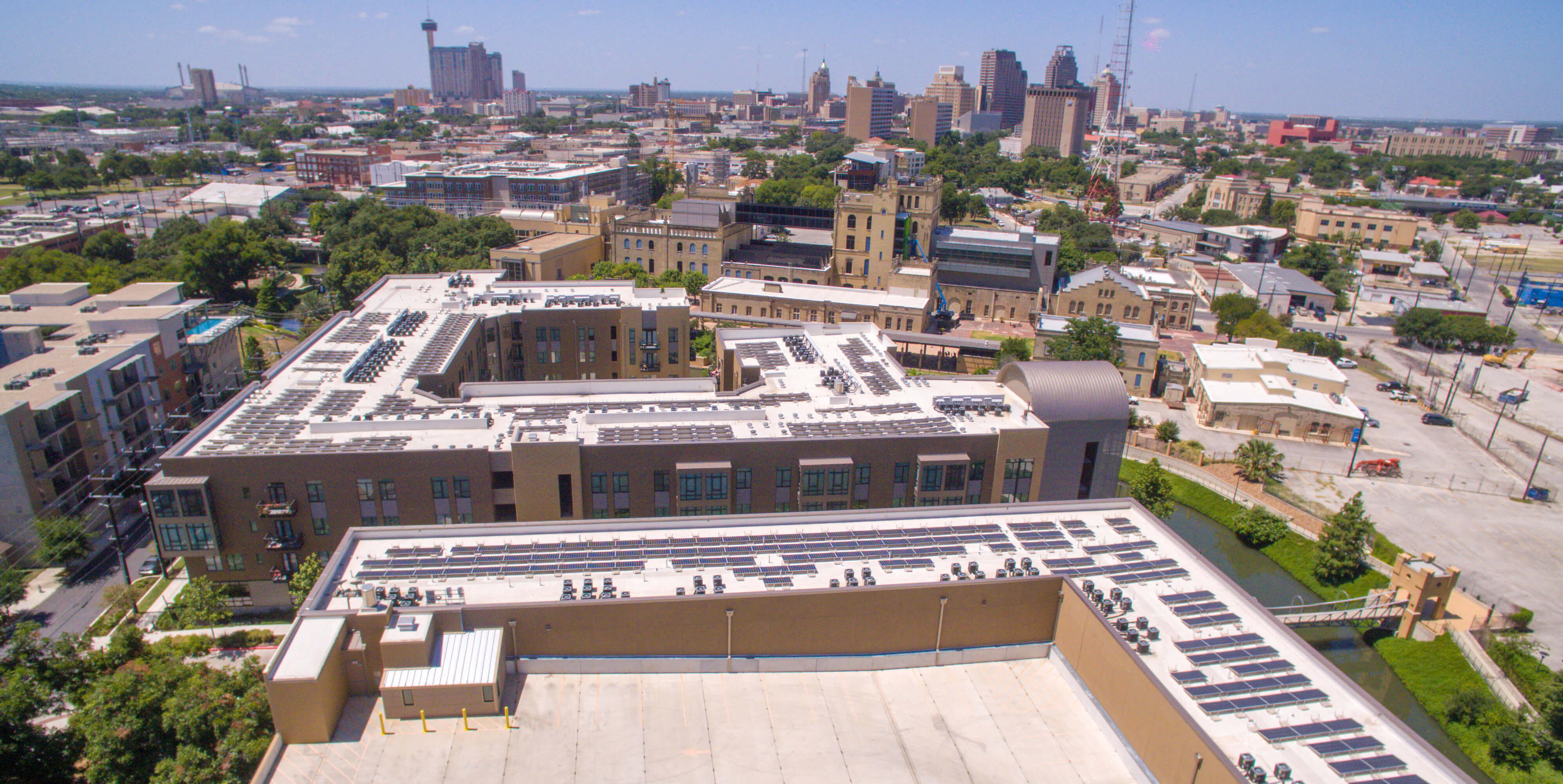 River House Apartments Rooftop Solar