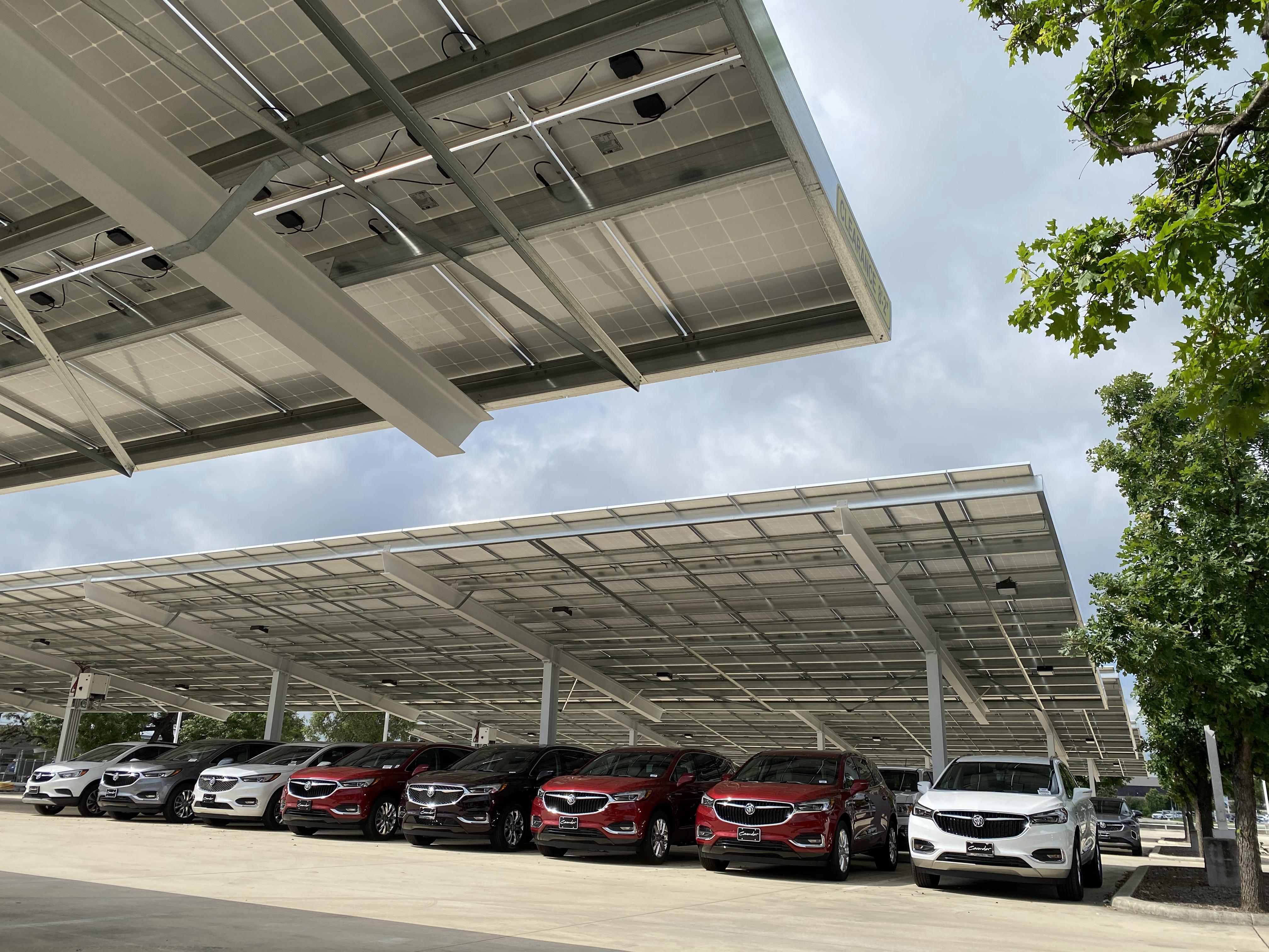 Cavender GMC West Solar Carports