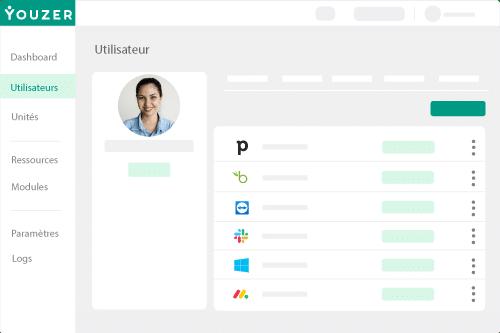 Youzer plateforme de gestion des utilisateurs et de leurs comptes