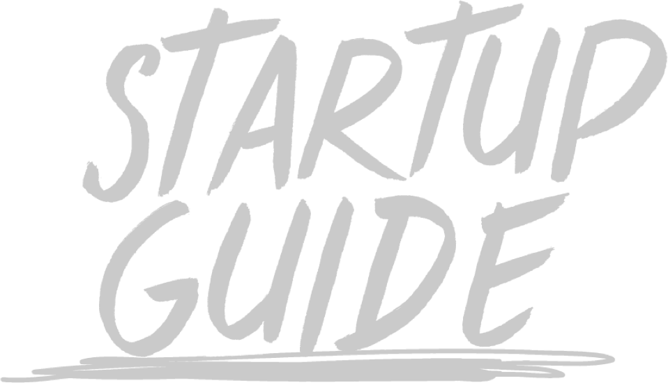 graphical logo of the startup guide from lisbon