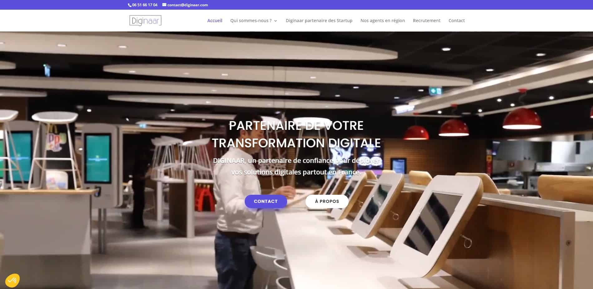Site Vitrine - WordPress
