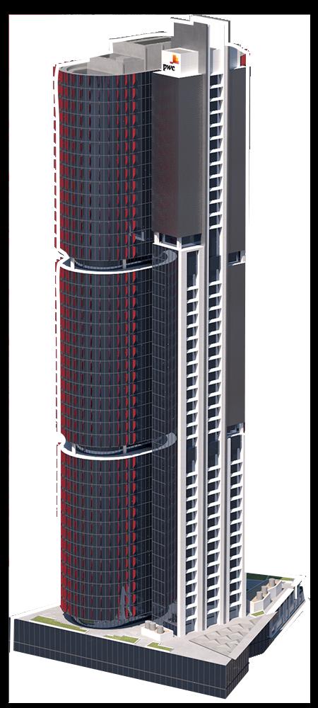 Barangaroo Tower 1 3D model