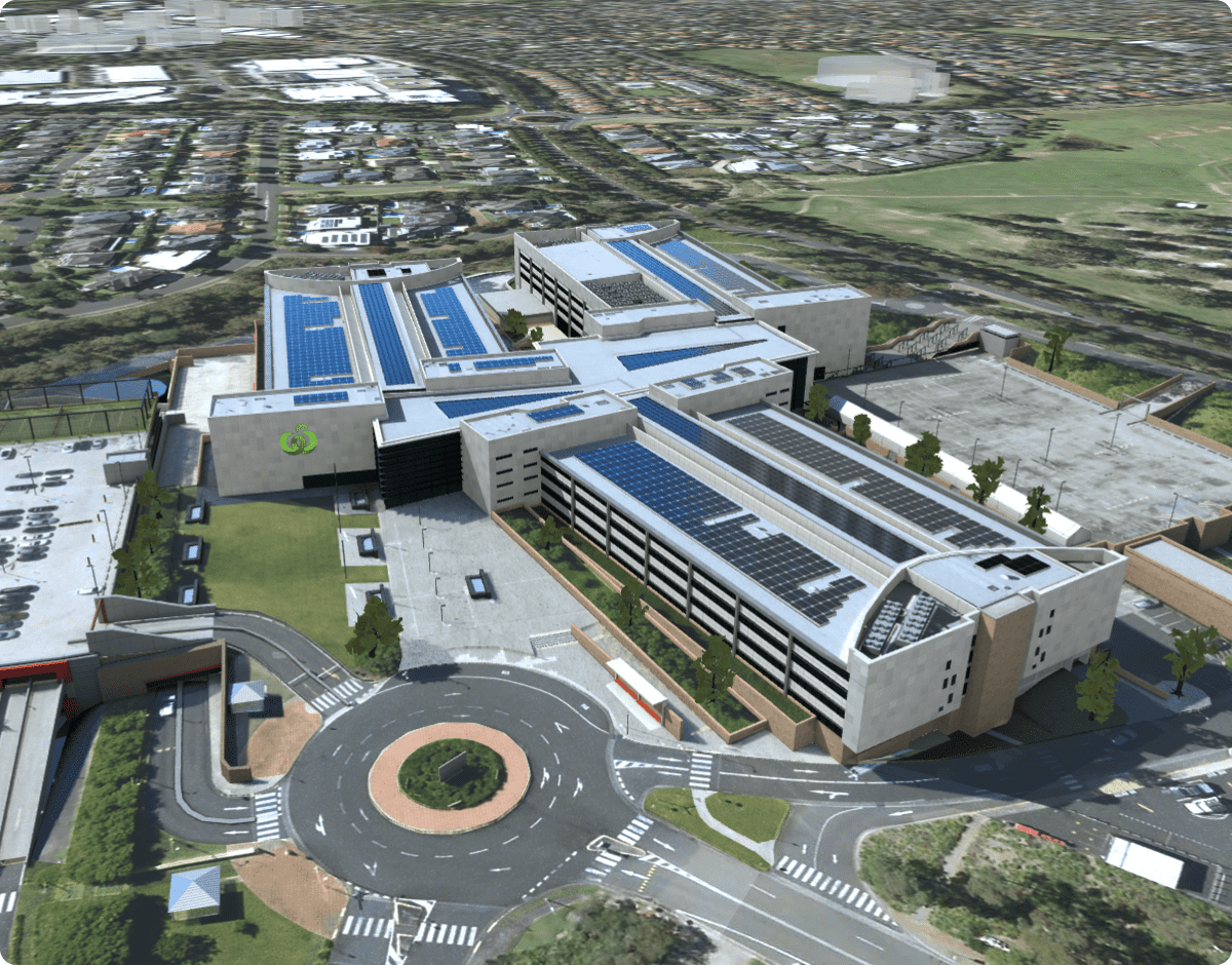 1 Woolworths Way Office Building 3D Model