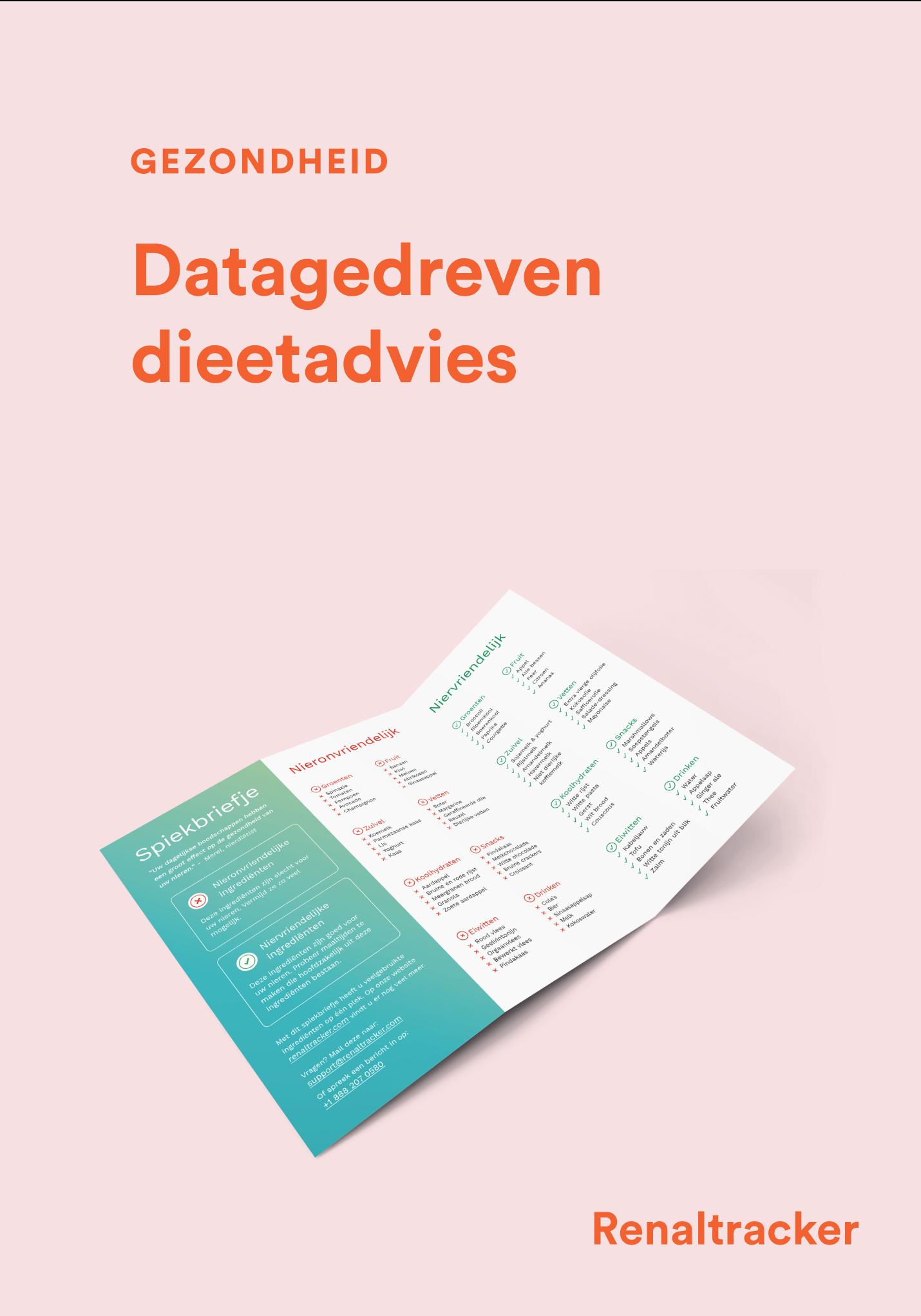 Project - Renaltracker - Datagedreven dieetadvies