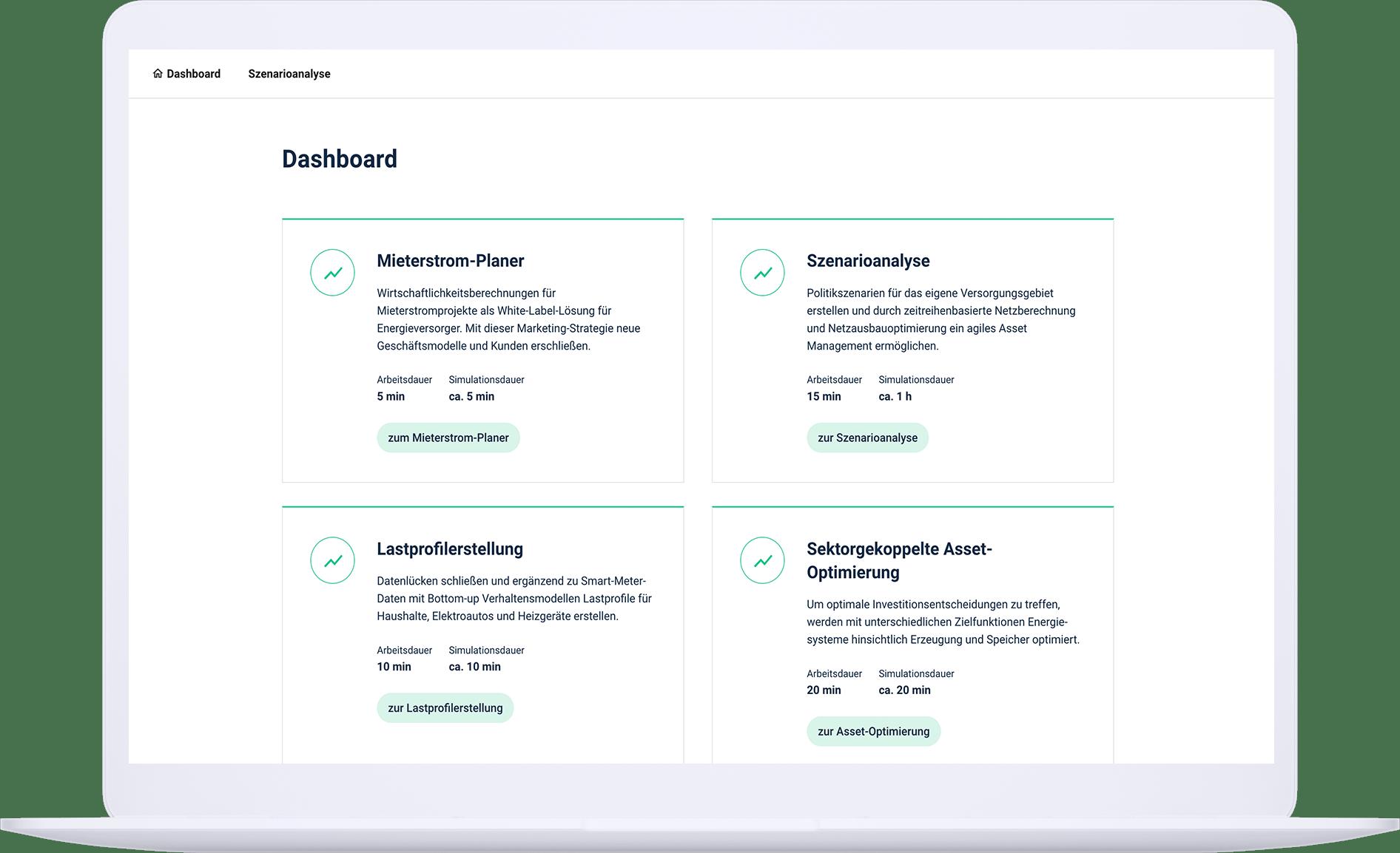 screenshot of our innovation plattform