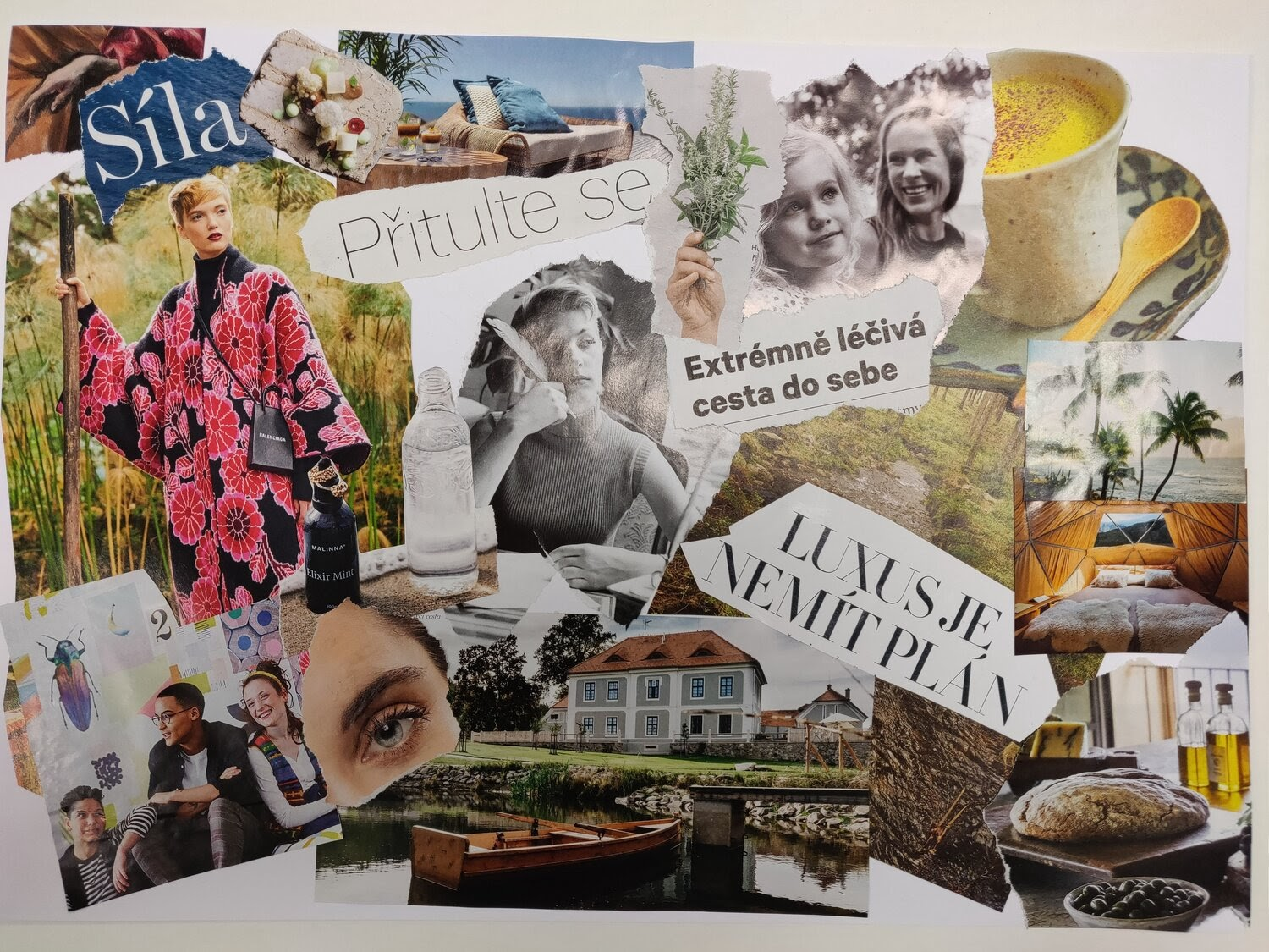 Pic: My 2020 vision board