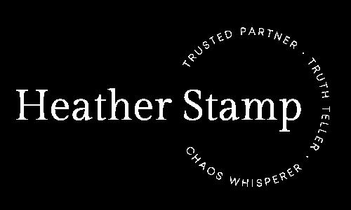 Heather Stamp Logo