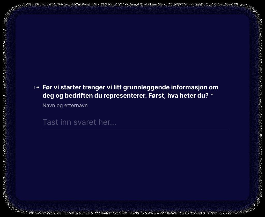 Typeform Form Screenshot