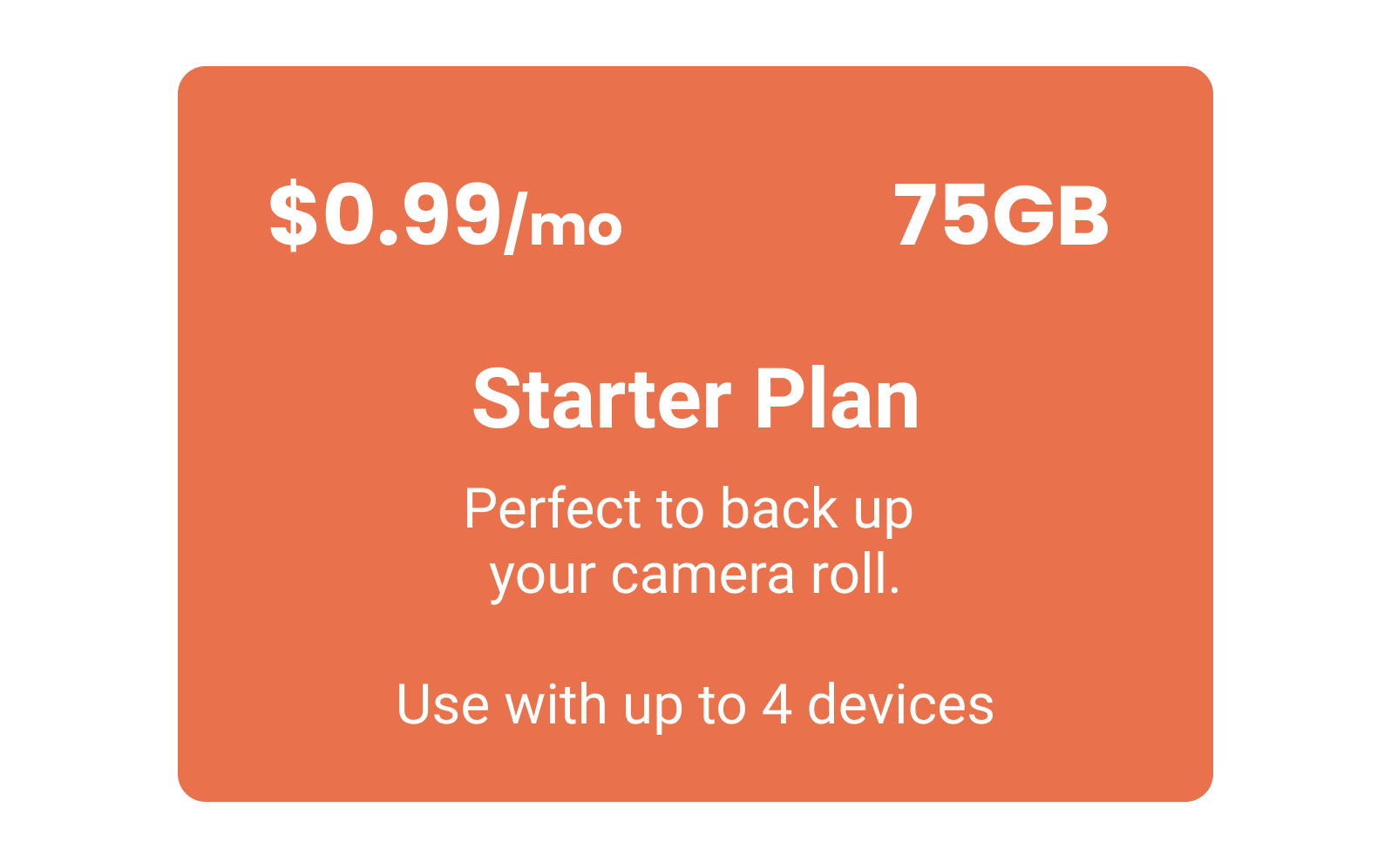 Slik Photos - You can quickly start uploading your photos with payment plans starting at only $0.99/month