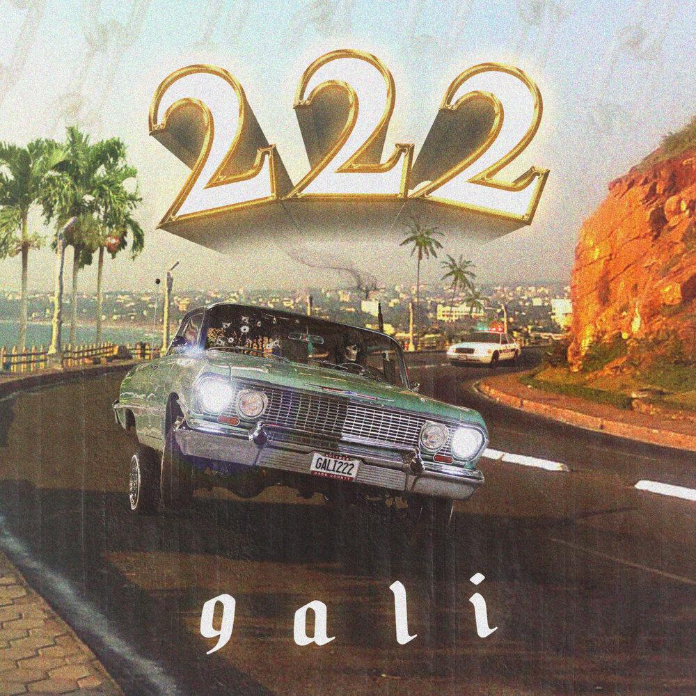 """Album artwork for Gali - """"222"""""""
