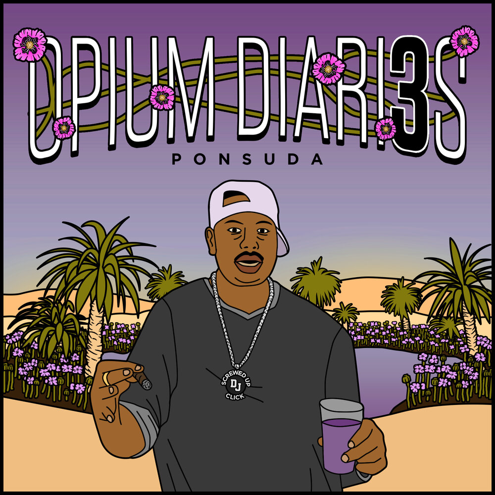 "Album artwork for Ponsuda - ""The Opium Diaries 3"""