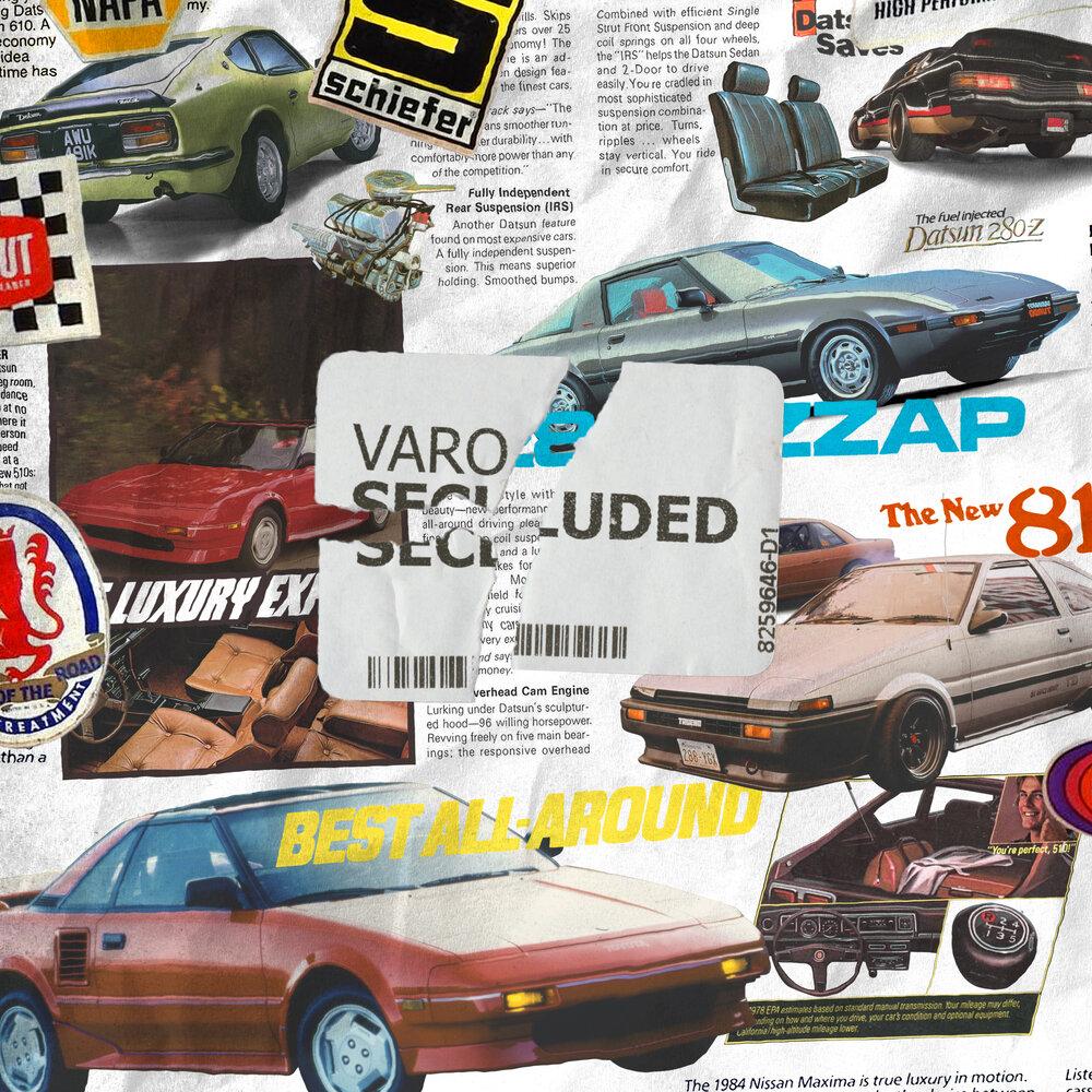 """Album artwork for Varo - """"Secluded"""""""