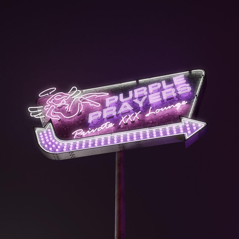 "Album artwork for Holy Mob & Purple Posse - ""Purple Prayers"""