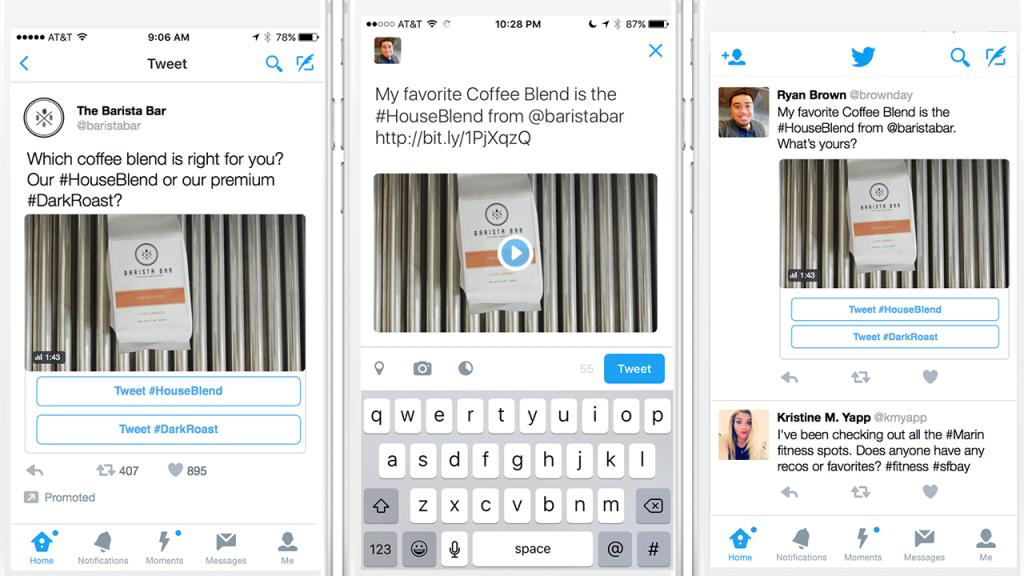 conversational twitter ads