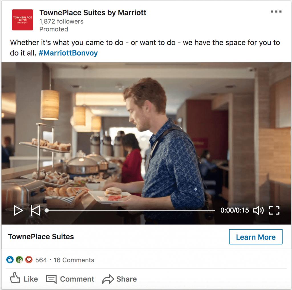 Linkedin Sponsored ads