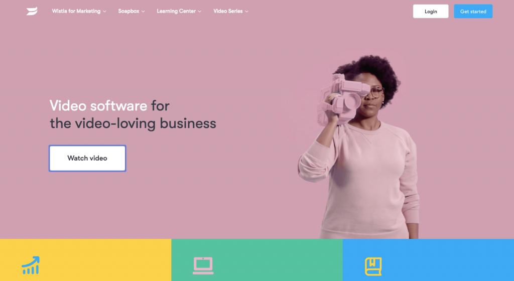 Wistia website