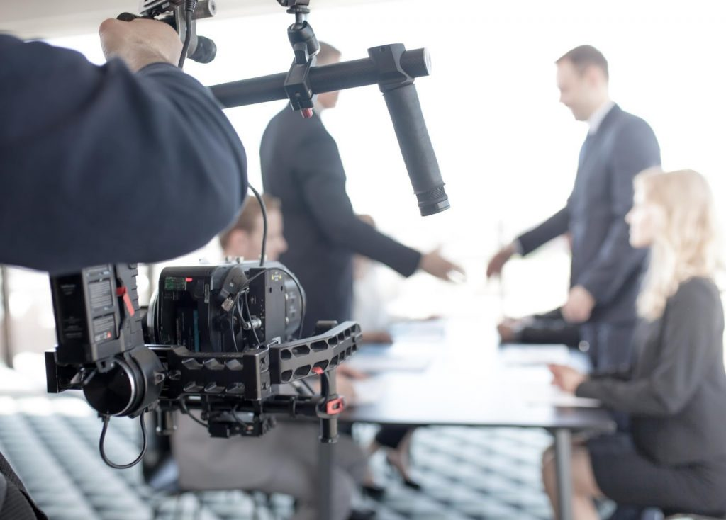 Image of a Video Shoot
