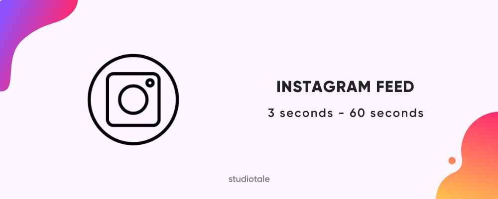 Instagram Feed Video Length