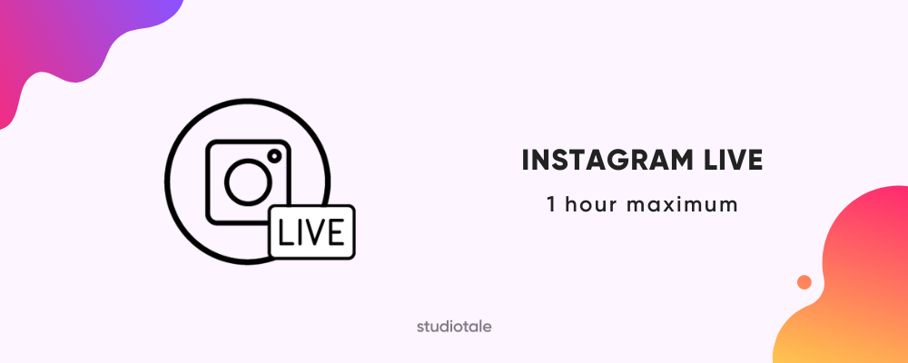 Instagram live video length