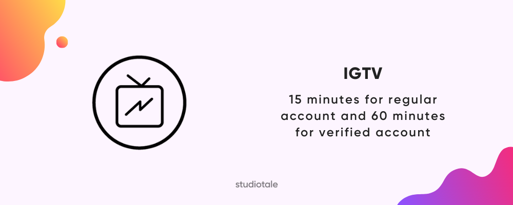 IGTV video length on Instagram