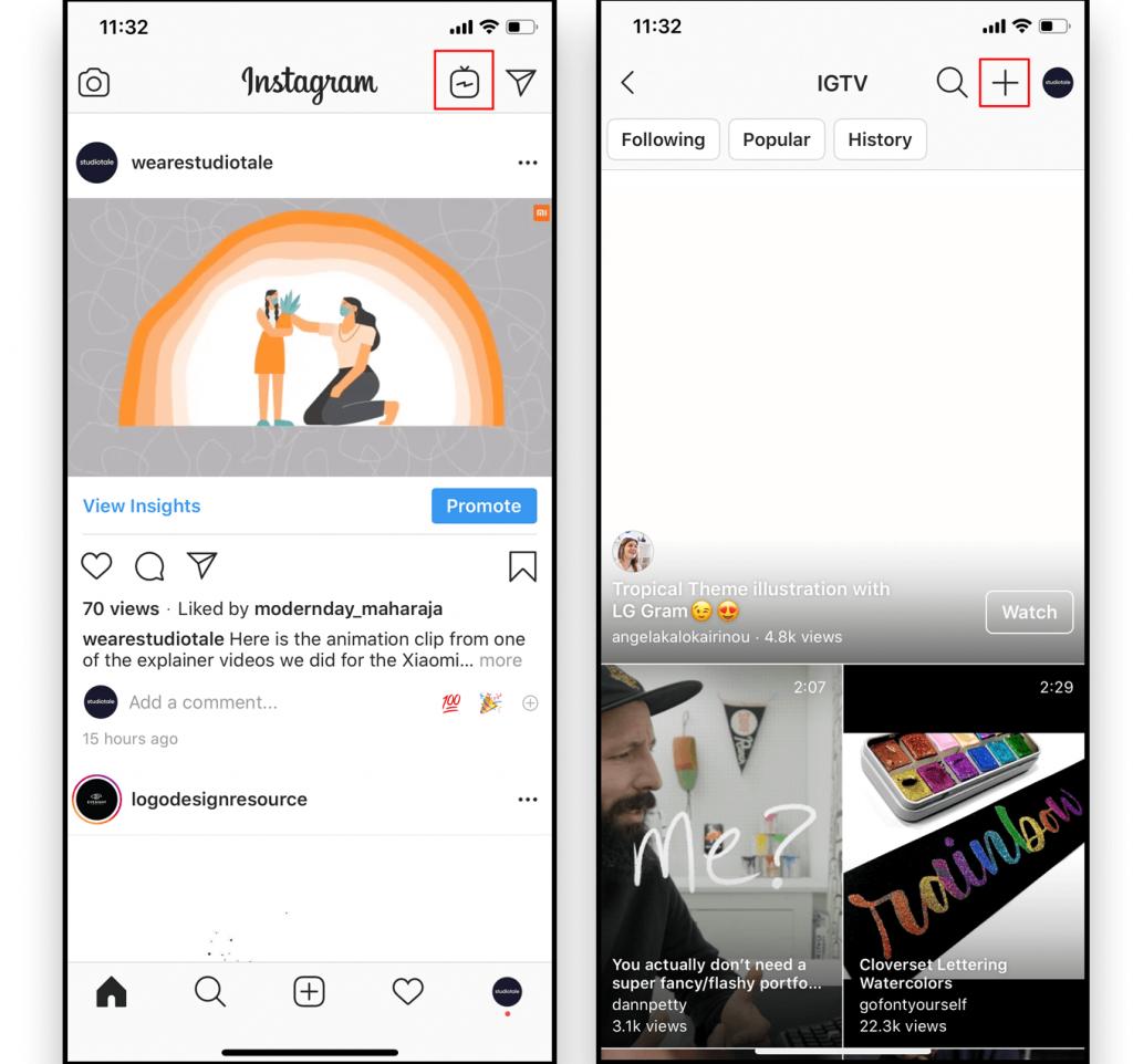 How to upload on Instagram IGTV