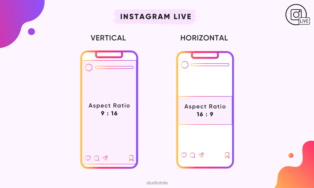 Instagram Live Video Format