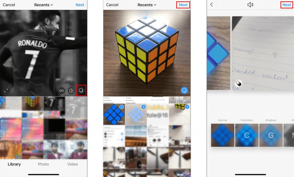 Instagram Feed Carousel Videos Upload