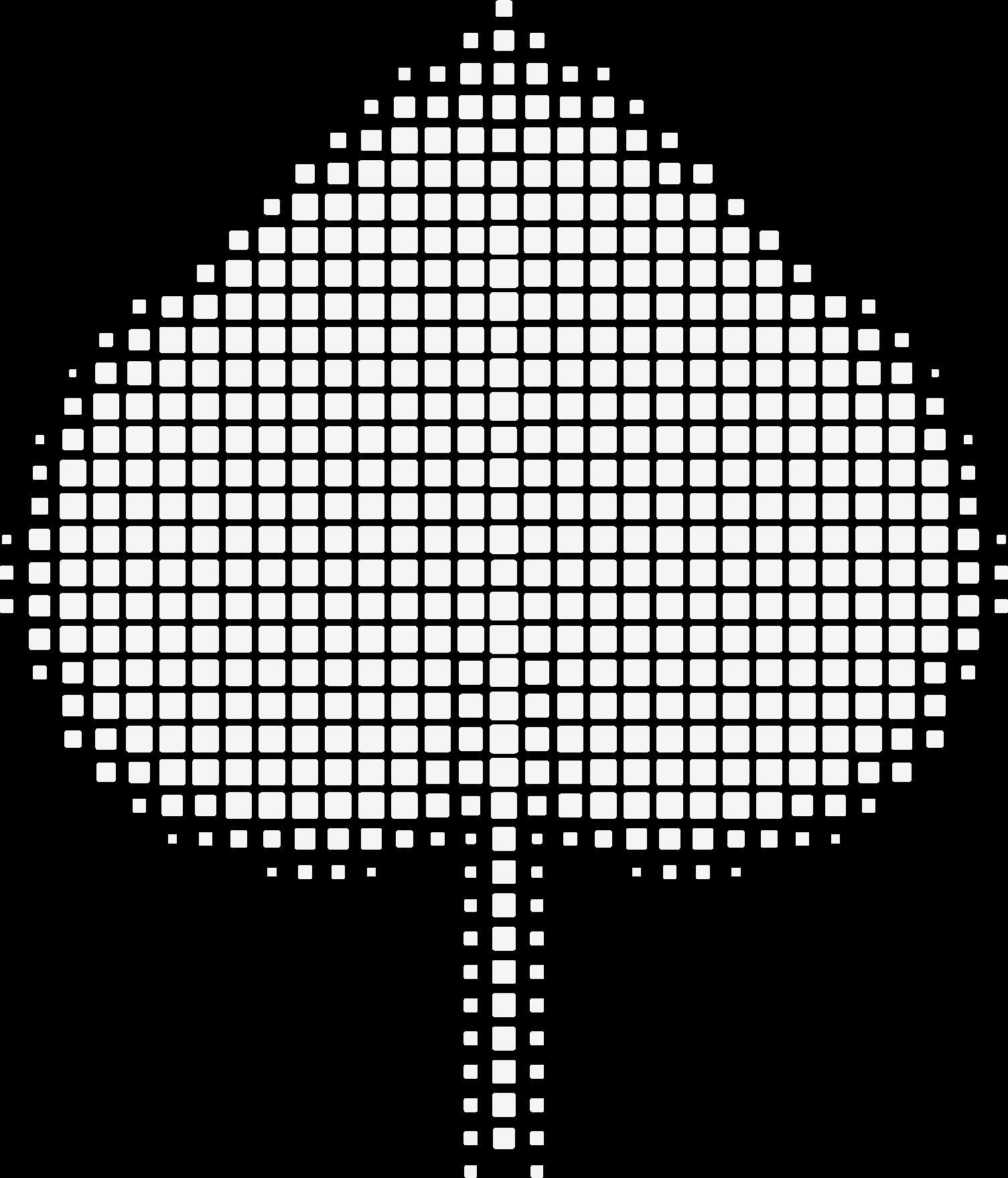 Dekorace - stylizovaný lipový list