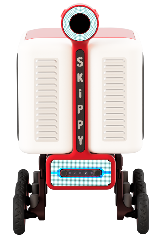 Skippy the delivery robot
