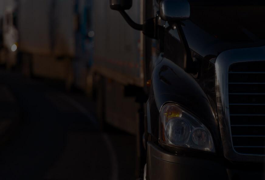 truck front headlight
