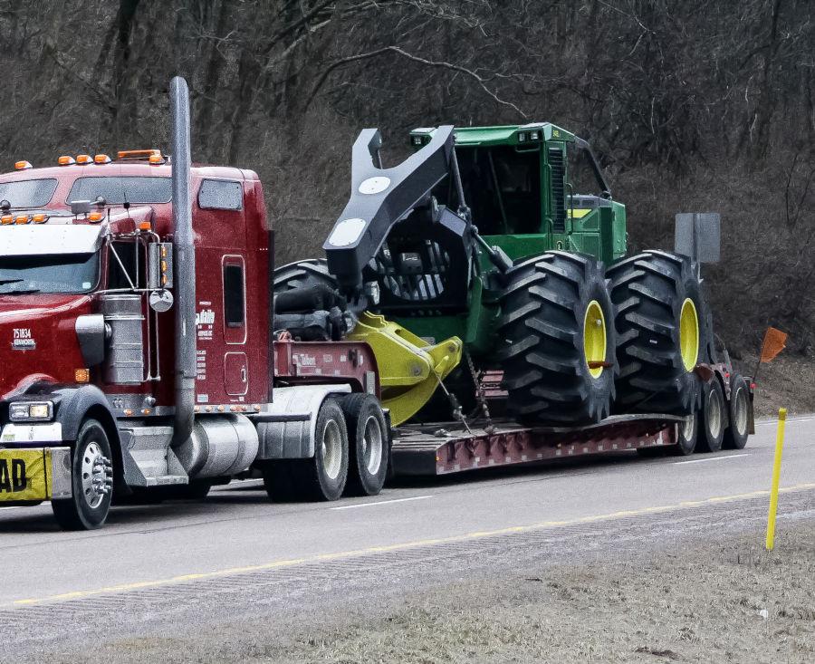 Heavy haul trucking.