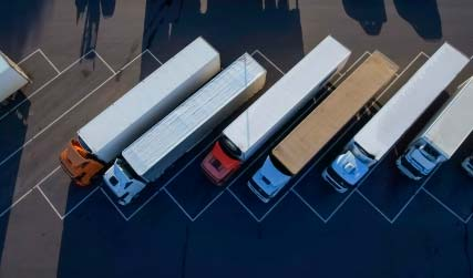 Parking of trucks
