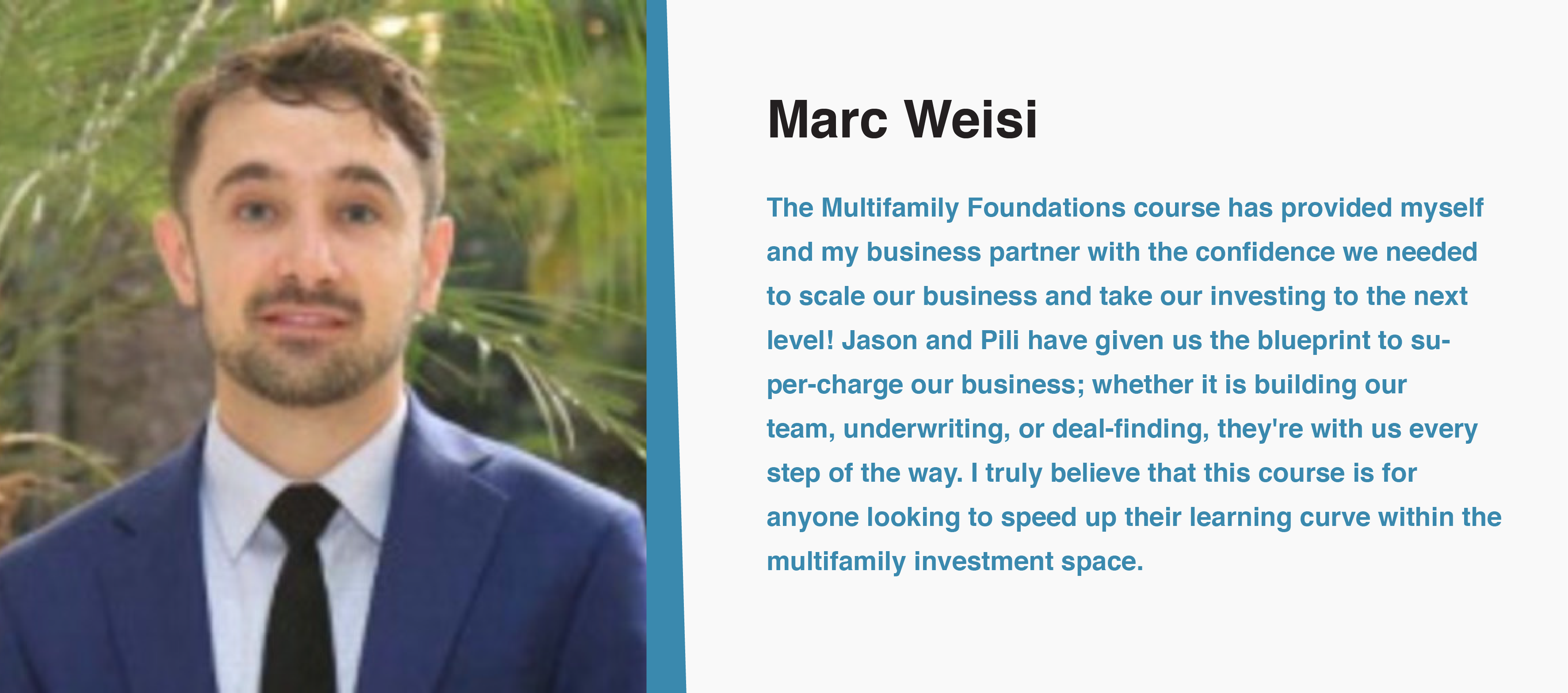 Marc Weisi Multifamily Investing