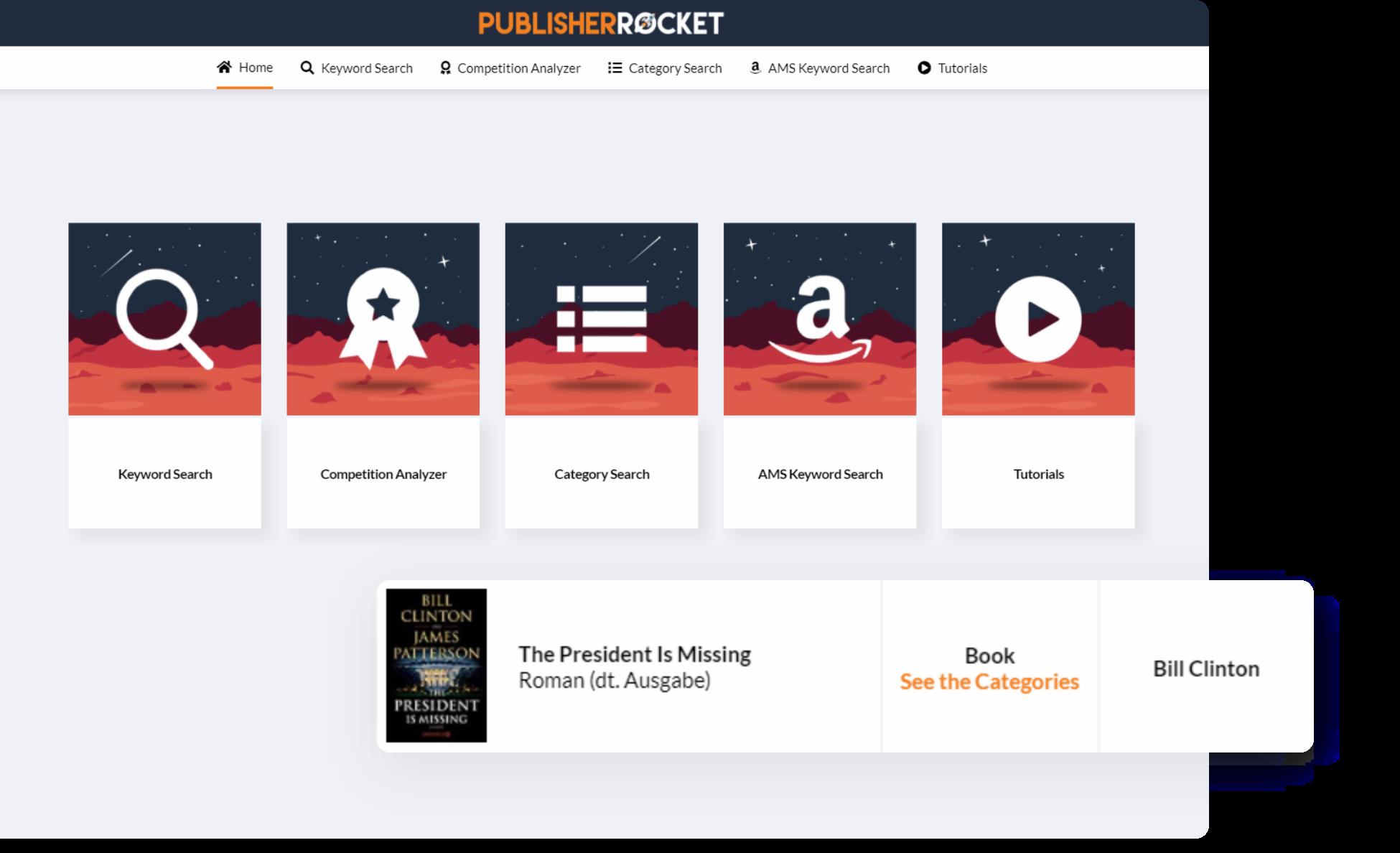 Publisher Rocket Dashboard