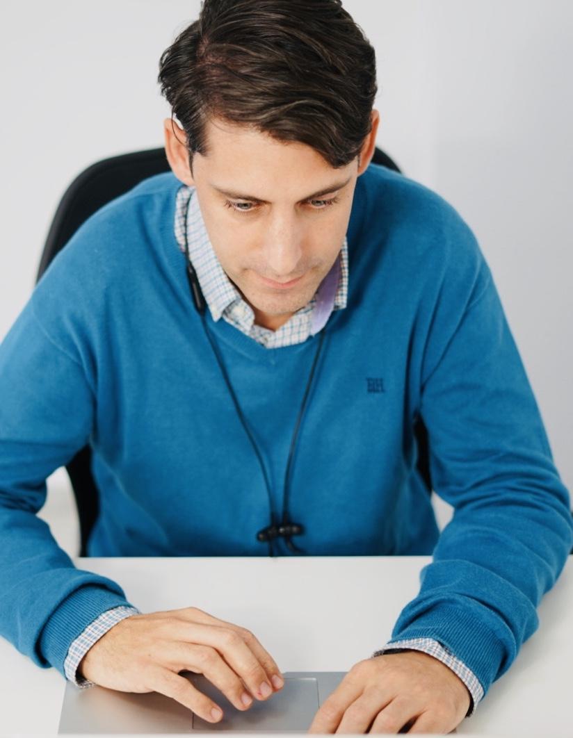 Santiago Acosta, Full-stack Developer of MOGU Platform.