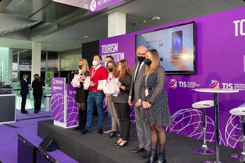 MOGU winning the contest of Tourism Innovation Summit 2021.