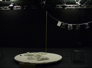 Silke Rudolph - Agonie - Lichthof Theater