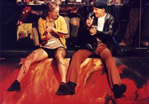 Silke Rudolph - Disco Pigs - Theater Mainz
