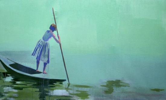 Gemälde - Öl auf Leinwand