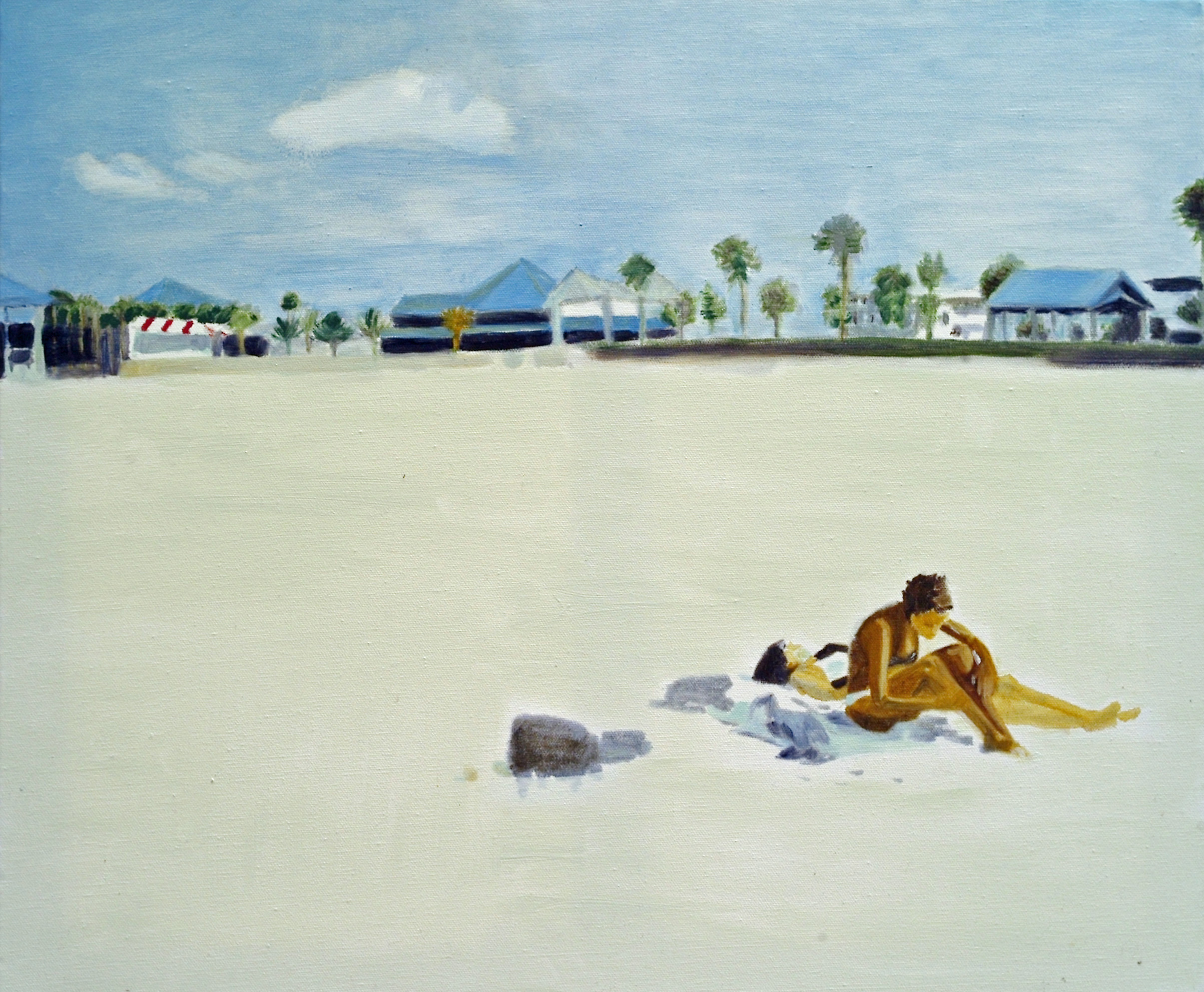 Gemälde Öl auf Leinwand